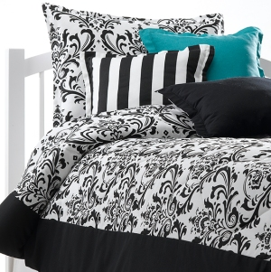Damask bedding made in America