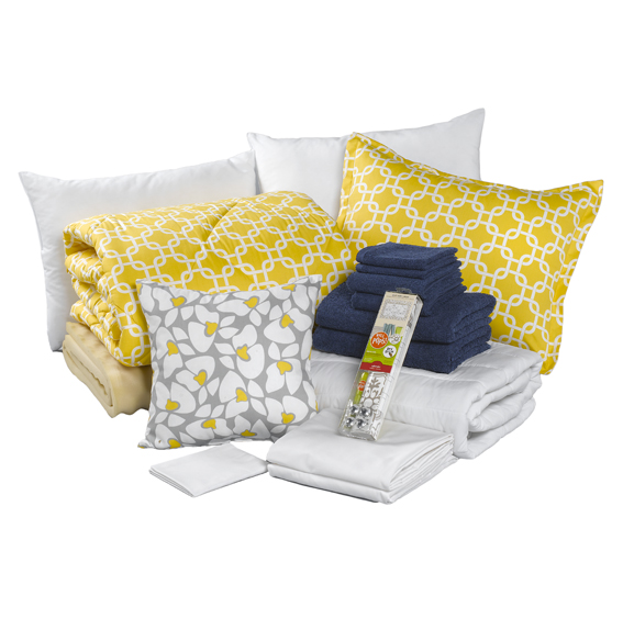 yellow metro dorm bundle