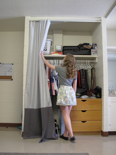 Dorm Closet Closet Curtain