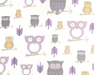 Lavender Hoot Owls