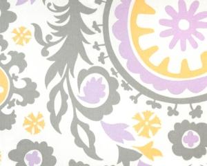 Lavender Gray Suzani