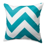 Wide Turquoise Chevron by American Made Dorm
